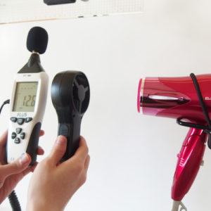 コイズミ KHD-9100 風力試験