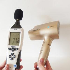 パナソニック EH-NA28 騒音試験