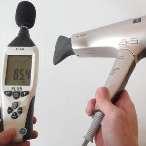 シャープ IB-GP9 騒音試験