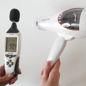 コイズミ モンスター KHD-W710 騒音試験