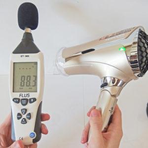 TESCOM TID2500 騒音試験