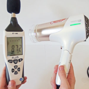 TESCOM TID8J 騒音試験