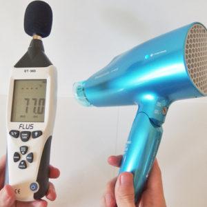 パナソニック EH-NA58 騒音試験