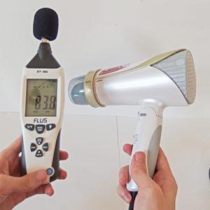 IZUMI DR-RM75 騒音試験