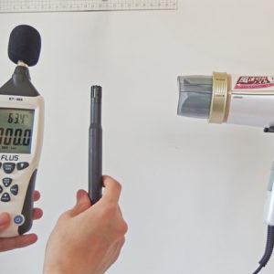 IZUMI DR-RM75 温度試験