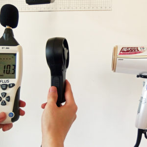 IZUMI DR-RM75 風力試験