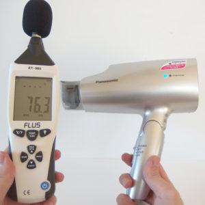 ナノケア EH-NA59 騒音試験