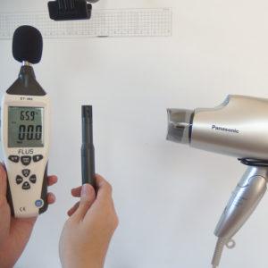 ナノケア EH-NA59 温度試験