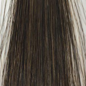 ブローネ艶カラー 白髪50 染め後