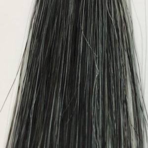 ボタニカラーシャンプー 白髪50% 15回後の染まり