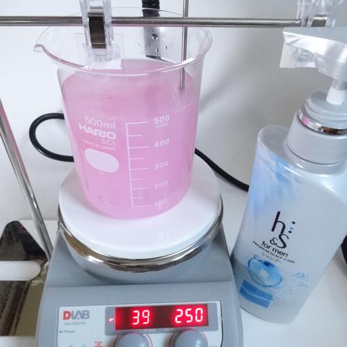 h&s 洗浄力 試験