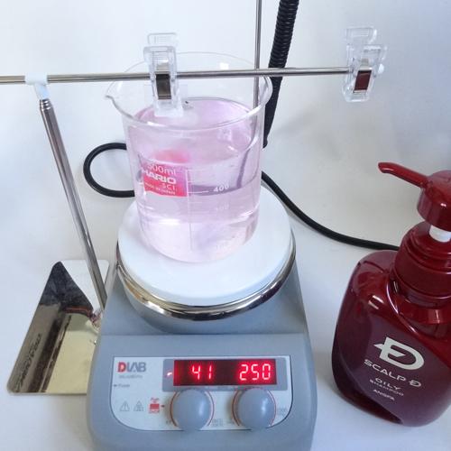 スカルプD 洗浄力 試験