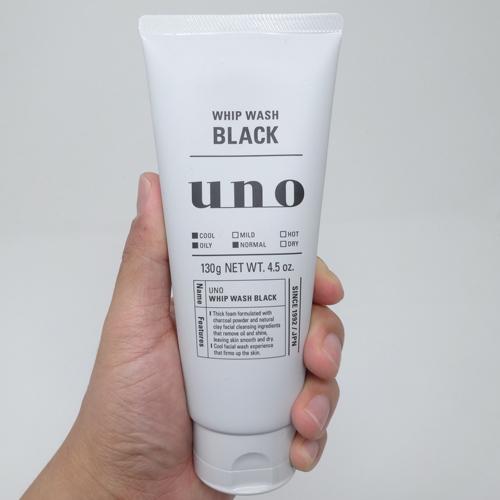 ウーノ 洗顔 ブラック